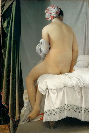 Ingres, The Valpincon Bather, 1808