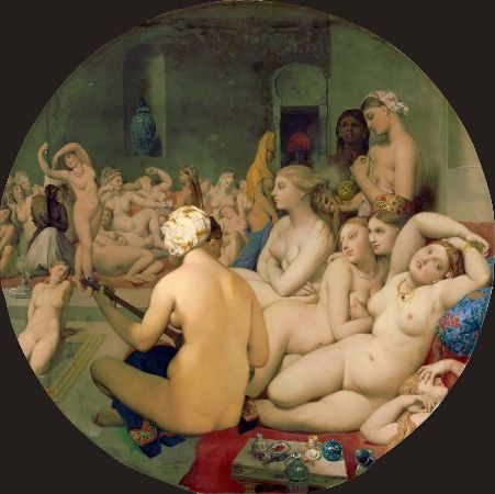 Ingres, Turkish Bath, 1863