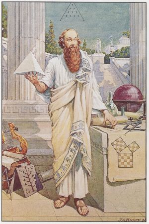 John Augustus Knapp, Pythagora