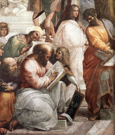 Raphael, The School of Athens, 1509