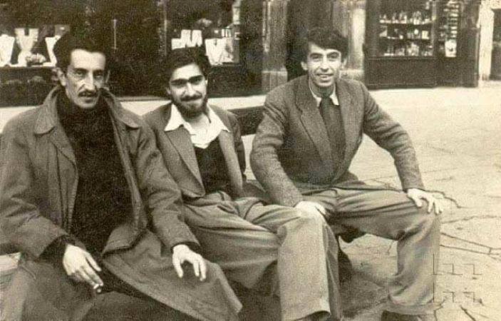 Sadi Calik, Can Yucel, İlhan Koman, 1950
