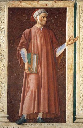 Dante Alighieri, Andrea del Castagno, 1450