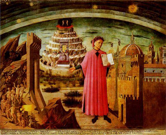 Dante Alighieri, Domenico di Michelino