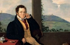 Gabor Melegh, Portrait of Schubert, 1827