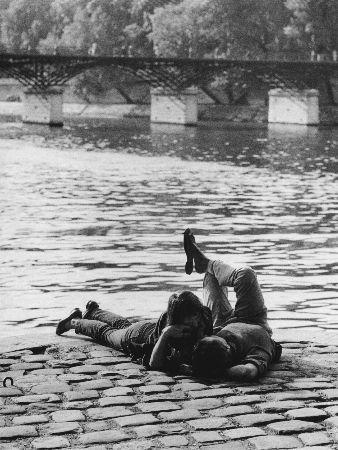 Izis Bidermanas, Ile du Vert-Galant, Paris, 1972
