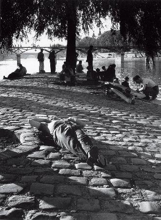 Izis Bidermanas, Paris, 1940'lar