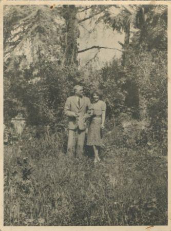 Aliye ve Karl Berger, Büyükada, 1947