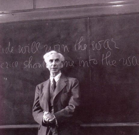 Bertrand Russell Los Angeles, 1939