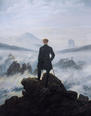 Caspar David Friedrich, Wanderer Above The Sea of Fog, 1818