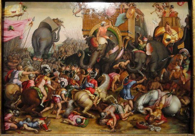 Cornelis Cort, The Battle of Zama, 1567