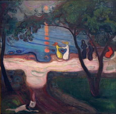 Edvard Munch, Dance On The Shore, 1900