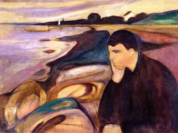 Edvard Munch, Melancholy, 1894