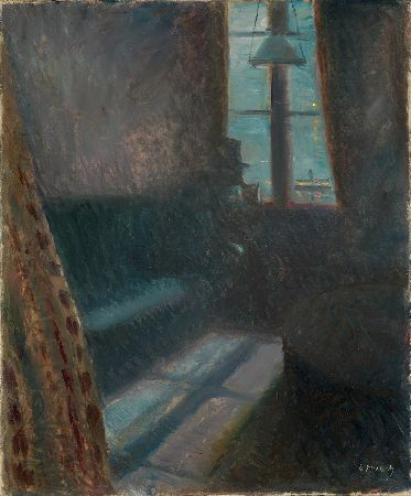 Edvard Munch, Night In Saint-Cloud, 1890