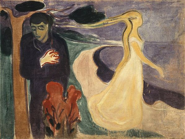 Edvard Munch, Separation, 1896