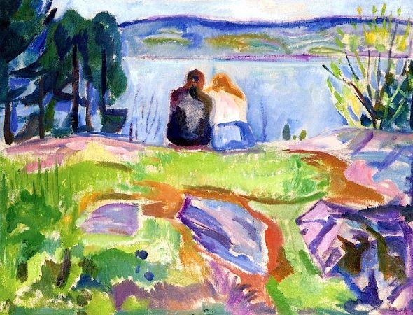 Edvard Munch, Springtime, 1911-13