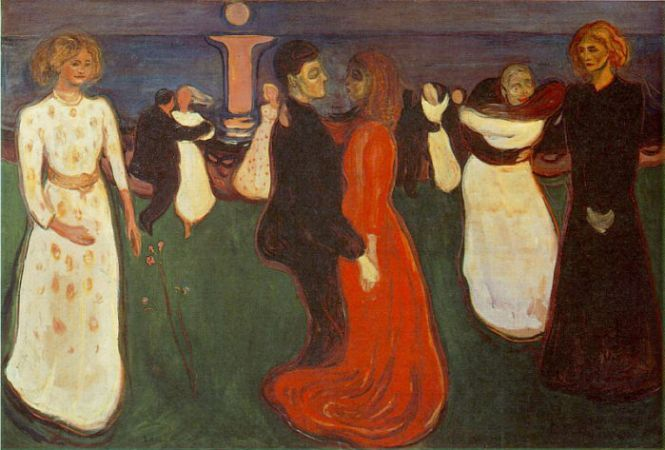 Edvard Munch, The Dance Of Life, 1899
