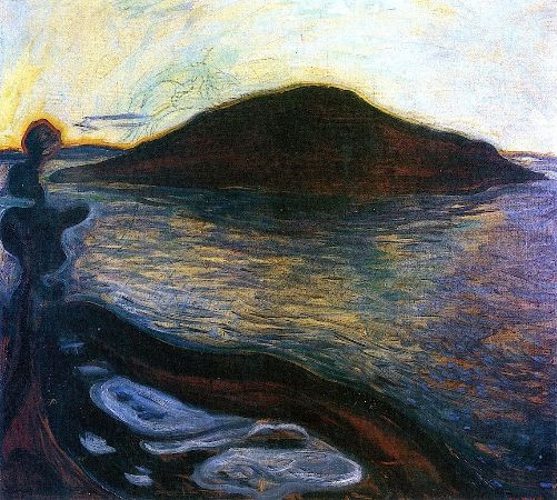 Edvard Munch, The Island, 1900-01