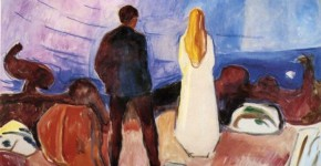 Edvard Munch, The Lonely Ones, 1935