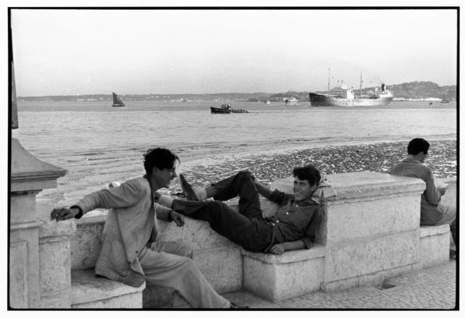 Henri Cartier-Bresson, Portekiz, Lizbon, 1955