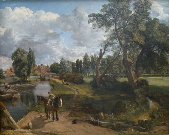 John Constable, Flatford Mill (Scene On A Navigable River), 1816-17