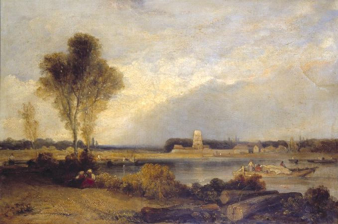 Richard Parkes Bonington, Landscape In Normandy