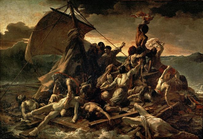 Théodore Géricault, The Raft of the Medusa, 1818-19