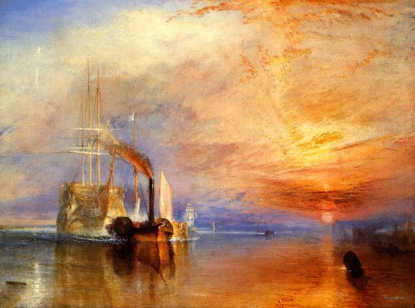 William Turner, The Fighting Temeraire, 1834