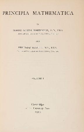 bertrand russell, matematigin ilkeleri