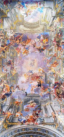 Andrea Pozzo, Triumph of Sant' Ignazio of Loyola, 1691-94