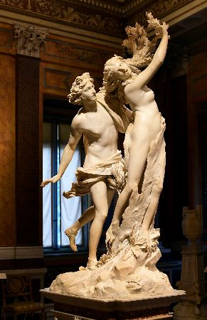 Apollo ve Daphne, 1622-25