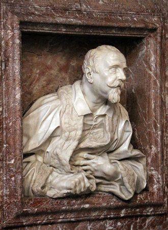 Bust of Gabriele Fonseca, 1668-75