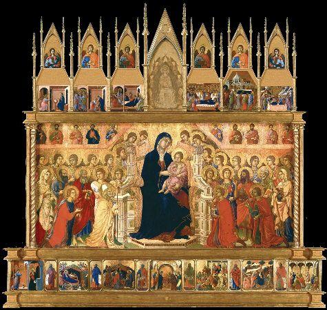Duccio di Buoninsegna, Maestà Altarpiece, 1308-1311
