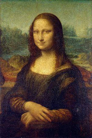 Leonardo da Vinci, La Gioconda, 1503-05