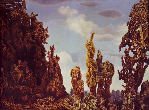 Max Ernst, The Fascinating Cypress, 1939