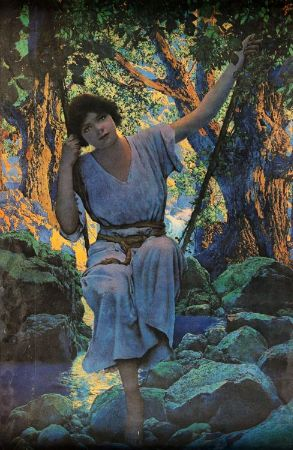 Maxfield Parrish, Dreamlight, 1925