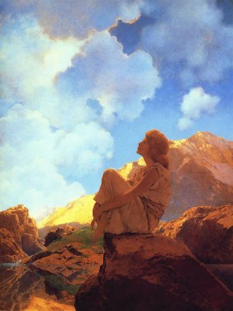 Maxfield Parrish, Morning Spring, 1922
