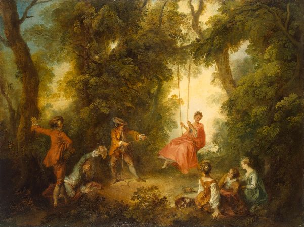 Nicolas Lancret, Swing, 1730