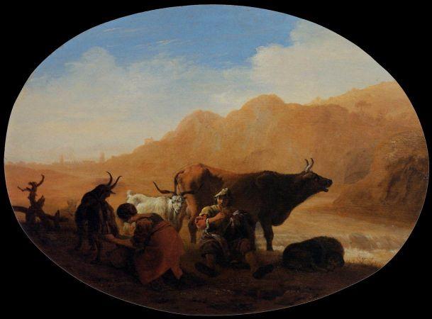 Pieter Van Laer, The Herdsmen, 1639-42