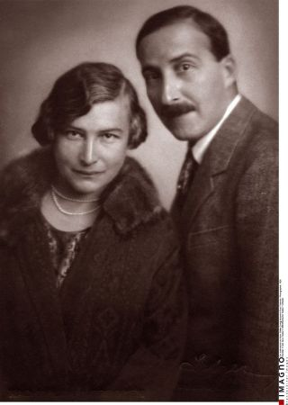 Stefan Zweig ve Friderike von Winternitz, 1922