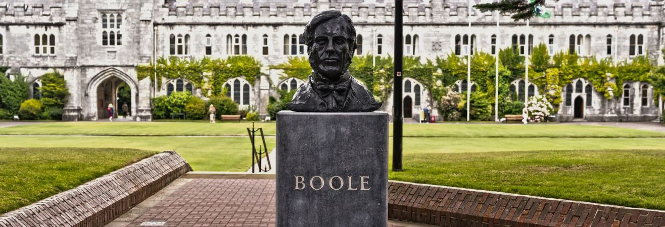 george boole bust