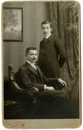 stefan zweig ve kardesi 1900