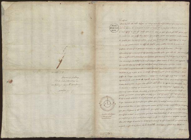 Descartes'in 9 Mayıs 1635 tarihli Jacobus Golius'a yazdığı mektup