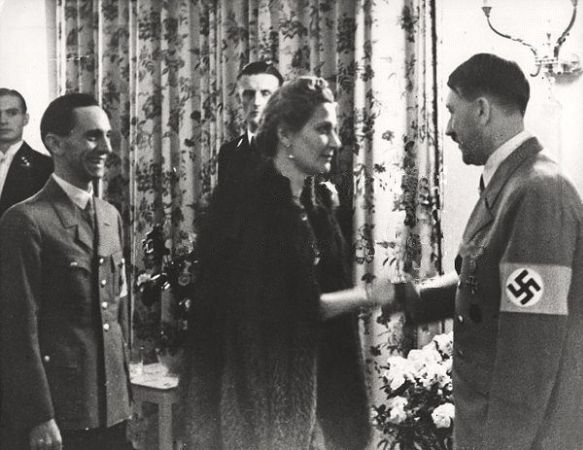 Hitler, Joseph ve Magda Goebbels