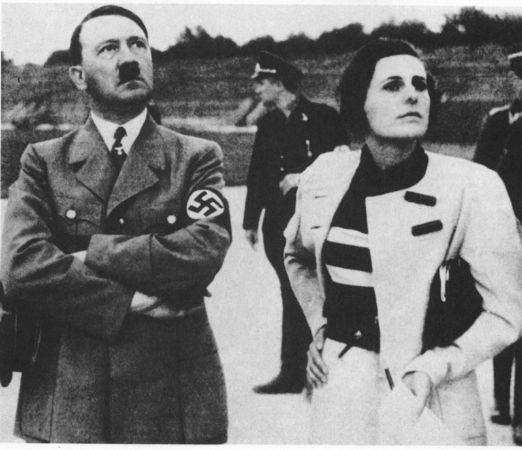 Leni Riefenstahl ve hitler