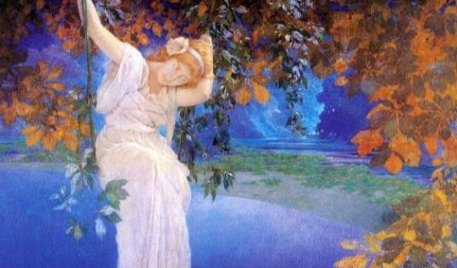 Maxfield Parrish, Reveries, 1926