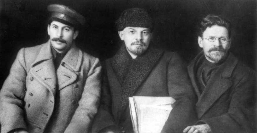 Stalin, Vladimir Lenin ve Mikhail Kalinin, 1919