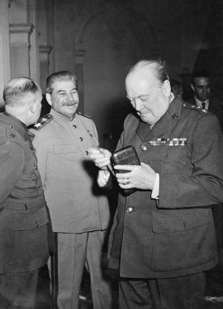 stalin ve churchill