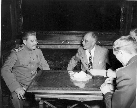 stalin ve roosevelt