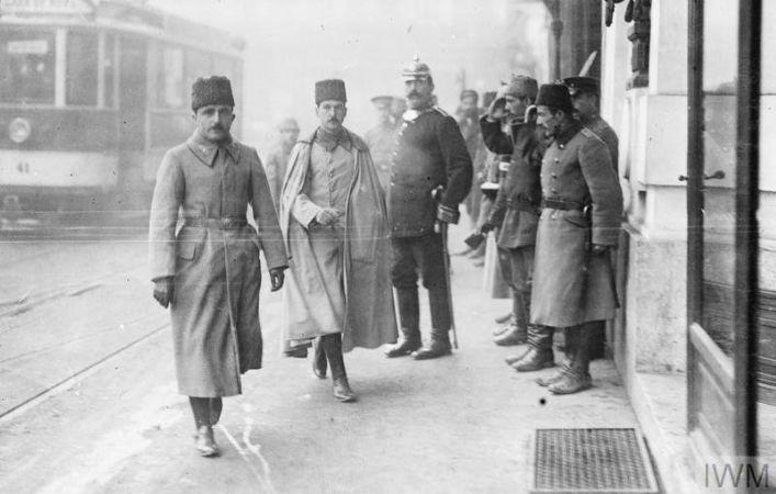 enver pasa, bukres, 1917