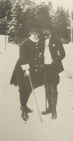 enver pasa ve naciye sultan, 1921